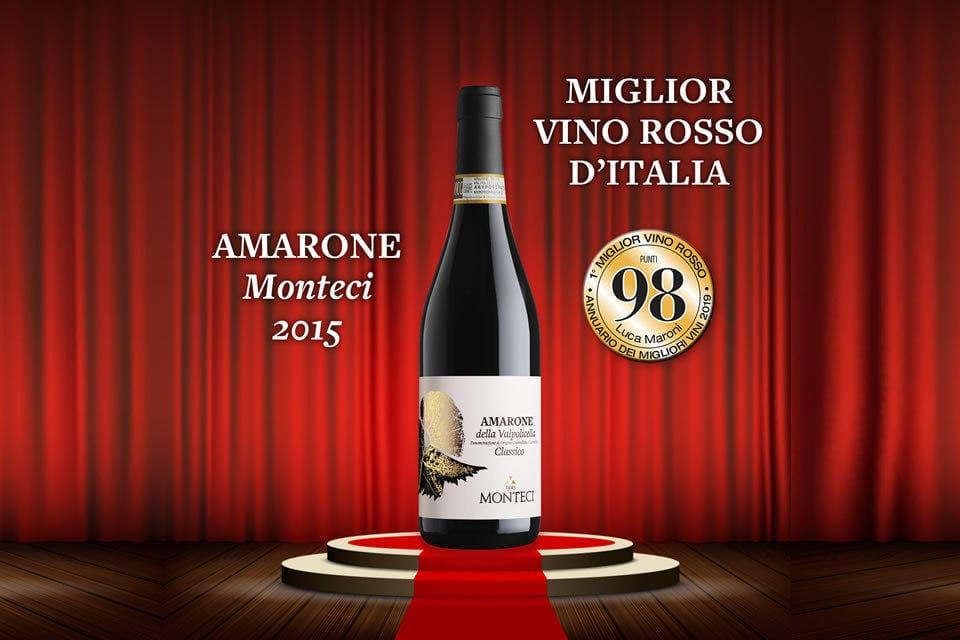 Best Italian red Wine - 98 points Luca Maroni
